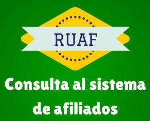 ruaf certificado