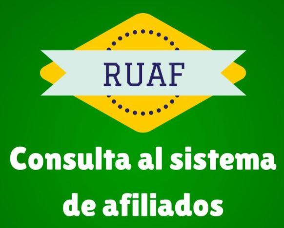 RUAF Consulta