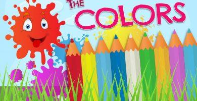 Aprende la variedad de colores en ingles