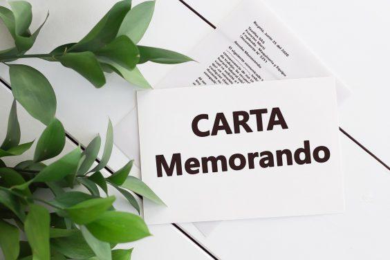 Como hacer un Memorando