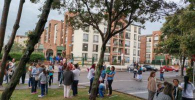 Temblor en Bogota