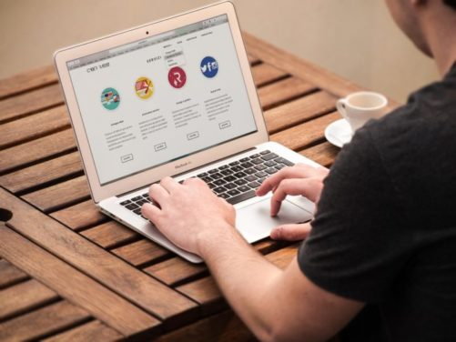 como crear una pagina web online