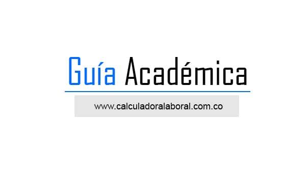 Carreras universitarias Guía Academica